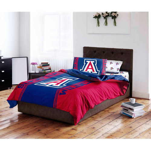NCAA University of Arizona Wildcats Bed in a Bag Complete Bedding Set