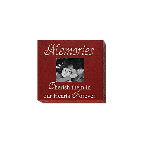 Forest Creations Memories Cherish Them in Our Hearts Forever Home Frame