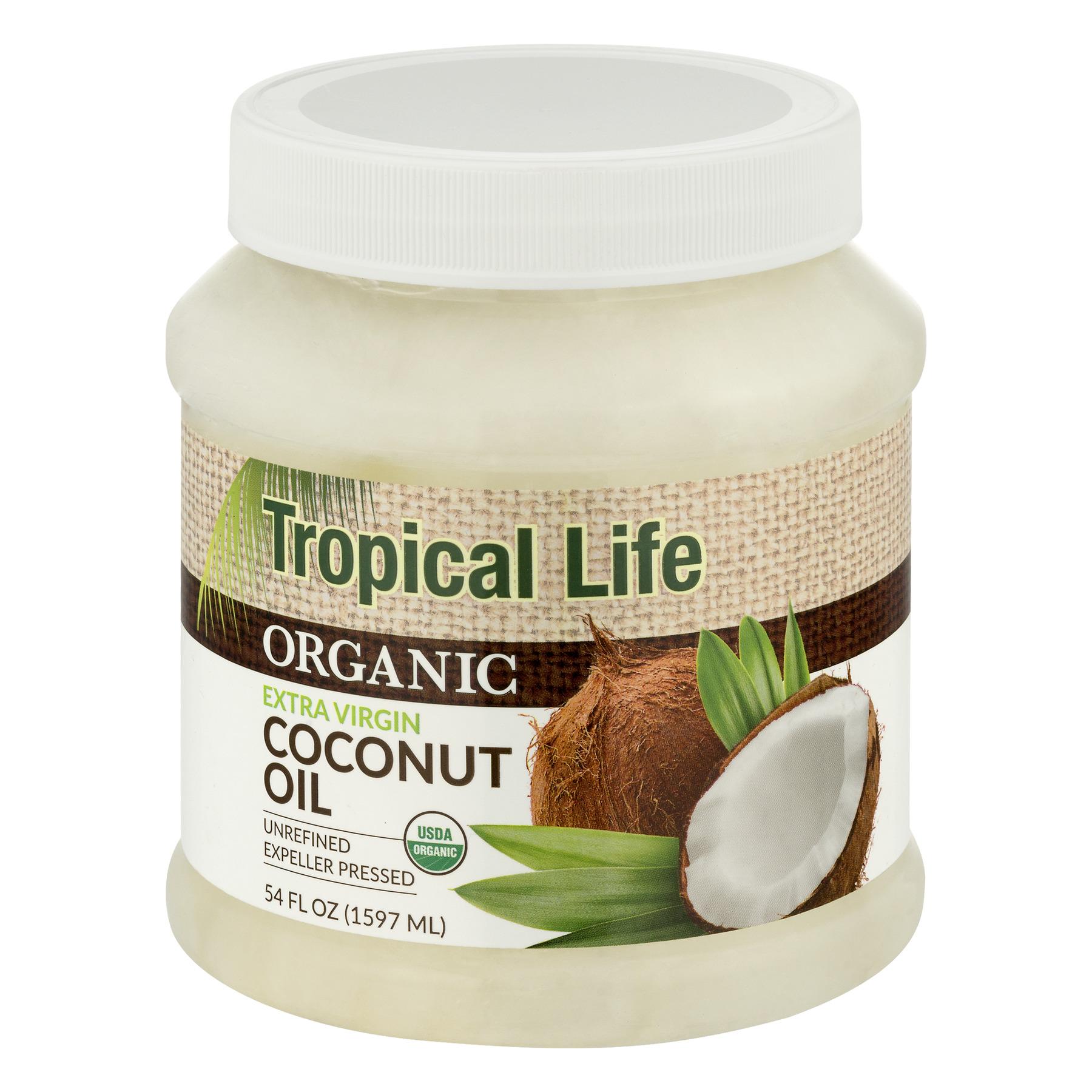 Carrington Farms Tropical Life Organic Extra Virgin Coconut Oil, 54.0 FL OZ