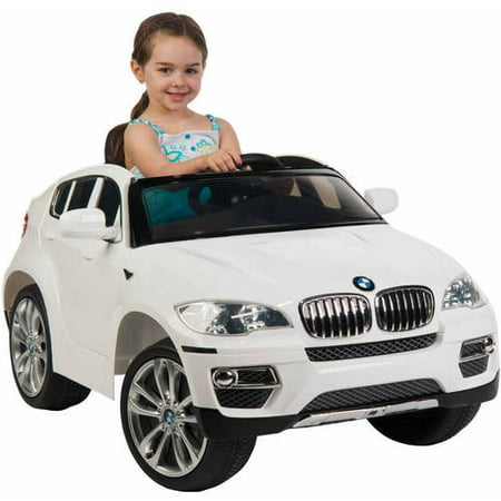 Bmw X6 6 Volt Electric Battery Powered Ride On Toy Car By