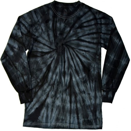 b7c70393 Daresay - DARESAY Tie Dye Style Long Sleeve T-Shirt Men Women - Fun, Multi  Color Tops - Walmart.com
