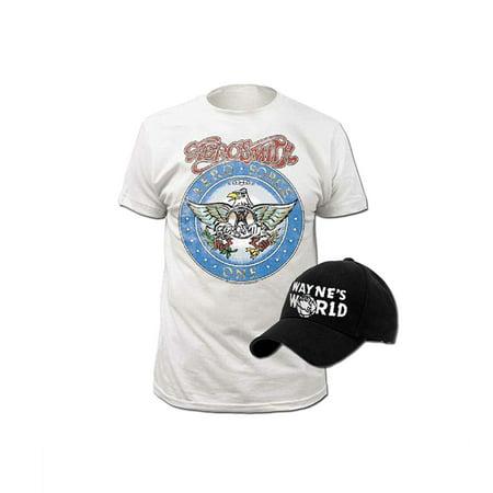 Wayne's World T-shirt and Hat Costume Set - Wayne's World Girl Halloween Costumes