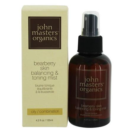 John Masters Organics - Bearberry Skin Balancing & Toning Mist - 4.2 oz. ()