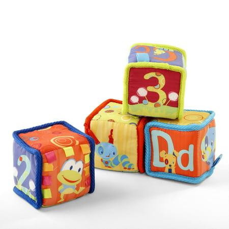 Bright Starts Grab & Stack Blocks Toy
