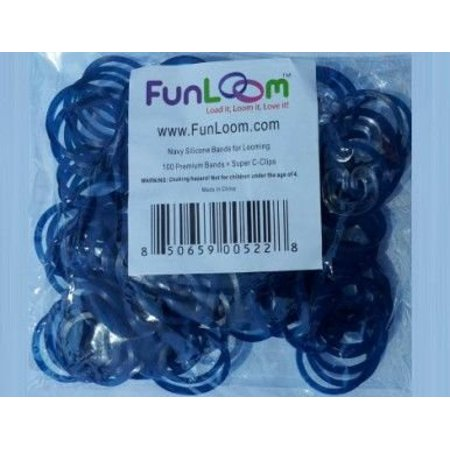 Fun Loom (Funloom Navy Rubberbands with Super)