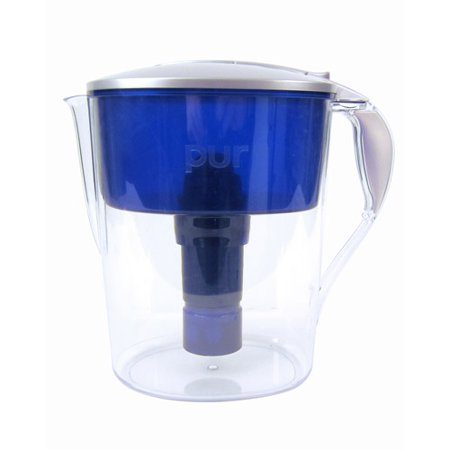PUR 11 Cup Chemical and Physical Water Filtration Pitcher - Blue/White