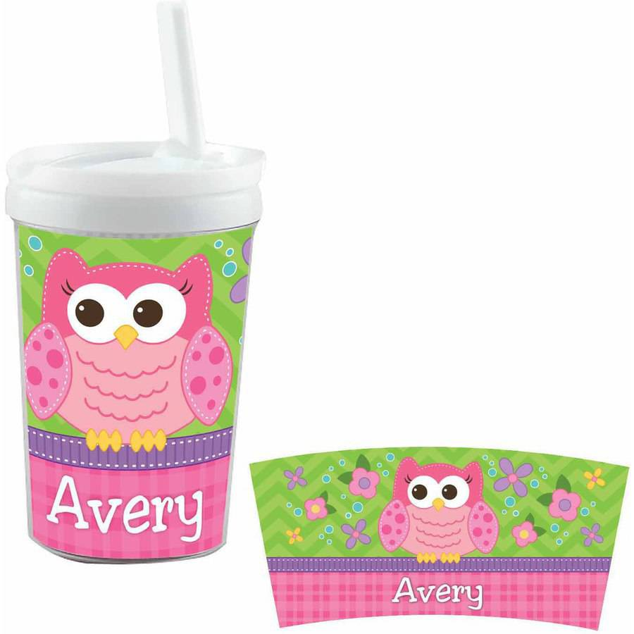 Personalized Sweet Owl Sippy Cup by Anchor