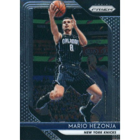 2018-19 Panini Prizm #257 Mario Hezonja New York Knicks Basketball Card
