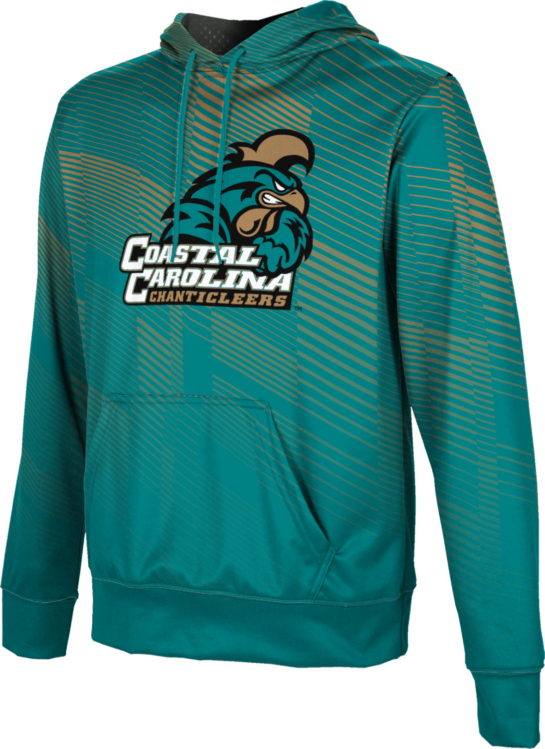 ProSphere Boys' Coastal Carolina University Bold Pullover Hoodie