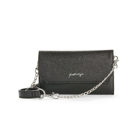 Kendall + Kylie for Walmart Black Glitter Belt Bag/Crossbody