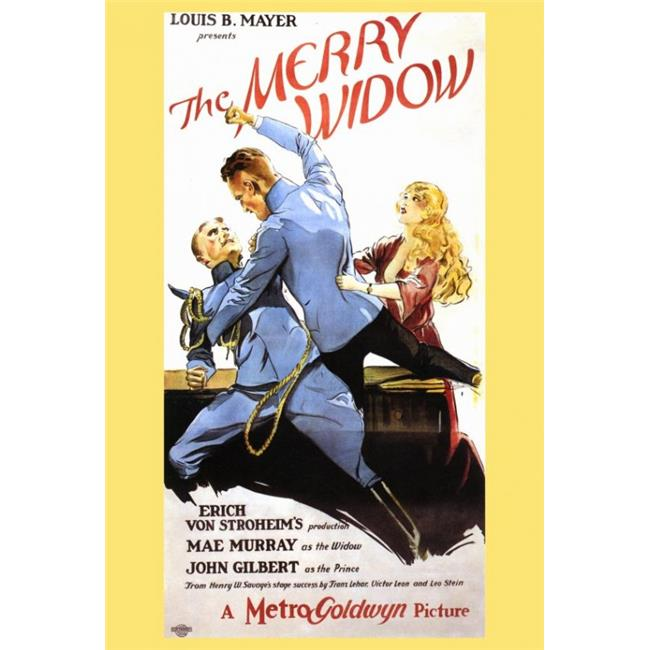 Merry Widow Movie Poster - 27 x 40 in. - image 1 of 1
