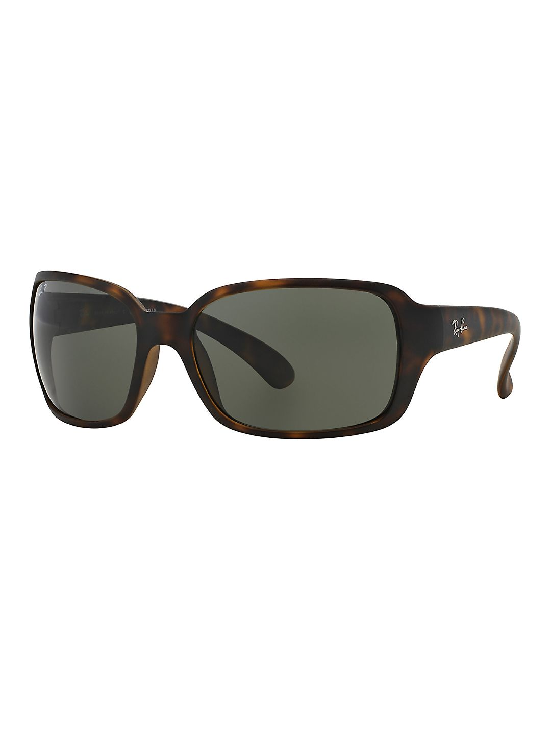 Ray-Ban Women's RB4068 Square Wrap Sunglasses, 60mm