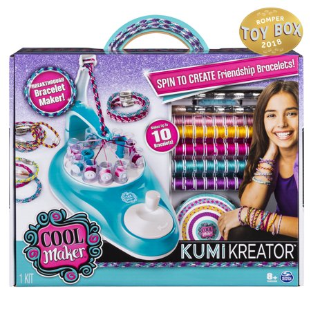 8 Year Old Girls (Cool Maker KumiKreator Friendship Bracelet Maker Kit for girls ages 8 &)