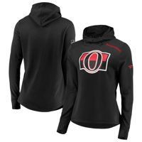 Ottawa Senators Fanatics Branded Women's Authentic Pro Rinkside Transitional Pullover Hoodie - Black