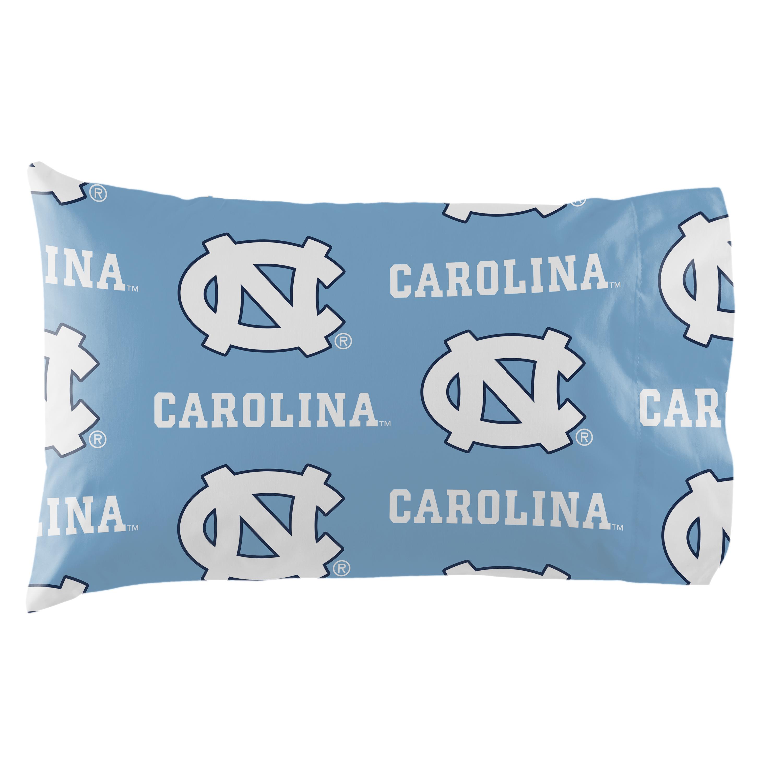 North Carolina Tarheels UNC Sheet Set Team Color Cotton Sheets