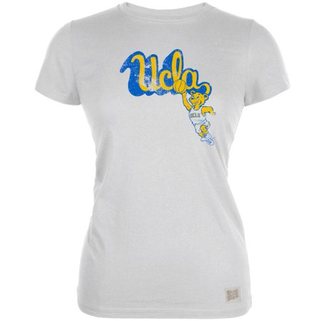 - UCLA Bruins - Basketball Bear Logo Vintage Juniors T-Shirt