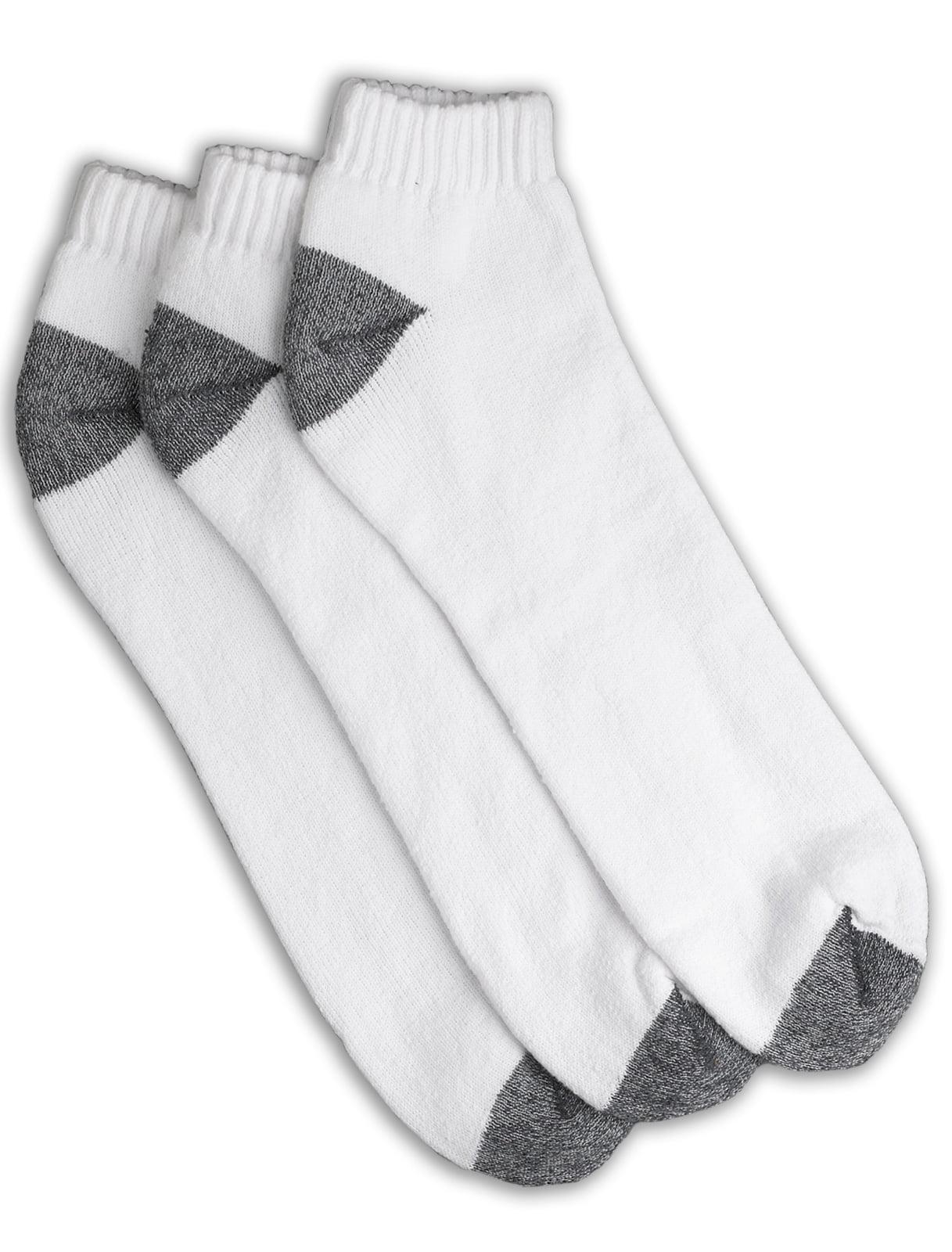Men's Big & Tall Harbor Bay 3-pk Continuous Comfort Low Cut Socks