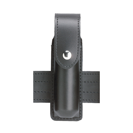 Safariland Model 38 OC Spray Holder with Top Flap, Black STX Tactical, Guardian 2-Ounce - 38-2-13PBL - Safariland