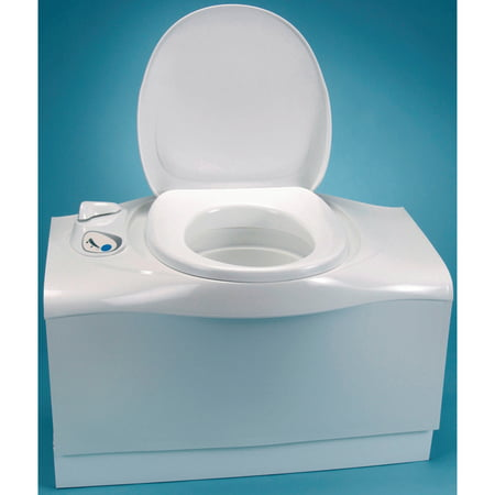 Thetford 32812 C402C 5.1 Gallon Electric Flush Cassette RV Toilet with Right Hand (Thetford C2 Cassette Toilet Won T Flush)