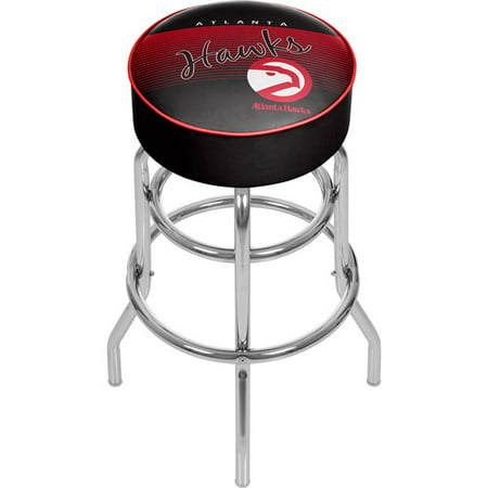 Atlanta Hawks NBA Hardwood Classics Padded Swivel Bar Stool by