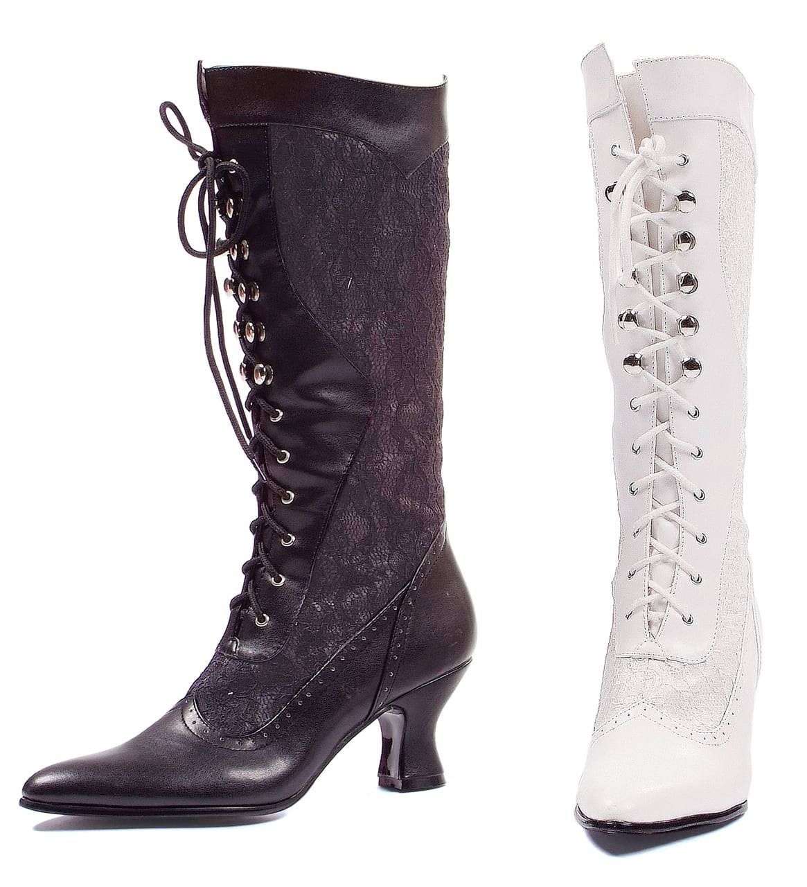 253-Rebecca Lace Heel Boot Economical, stylish, and eye-catching shoes