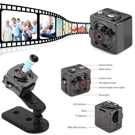 SQ8 Mini DV Camera 1080P Full HD Micro Cam Camcorder Wireless Camcorder Night Vision Digital Recorder