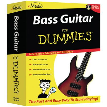 eMedia for Dummies FD07101 Bass Guitar for Dummies CD-ROM (PC and Mac)