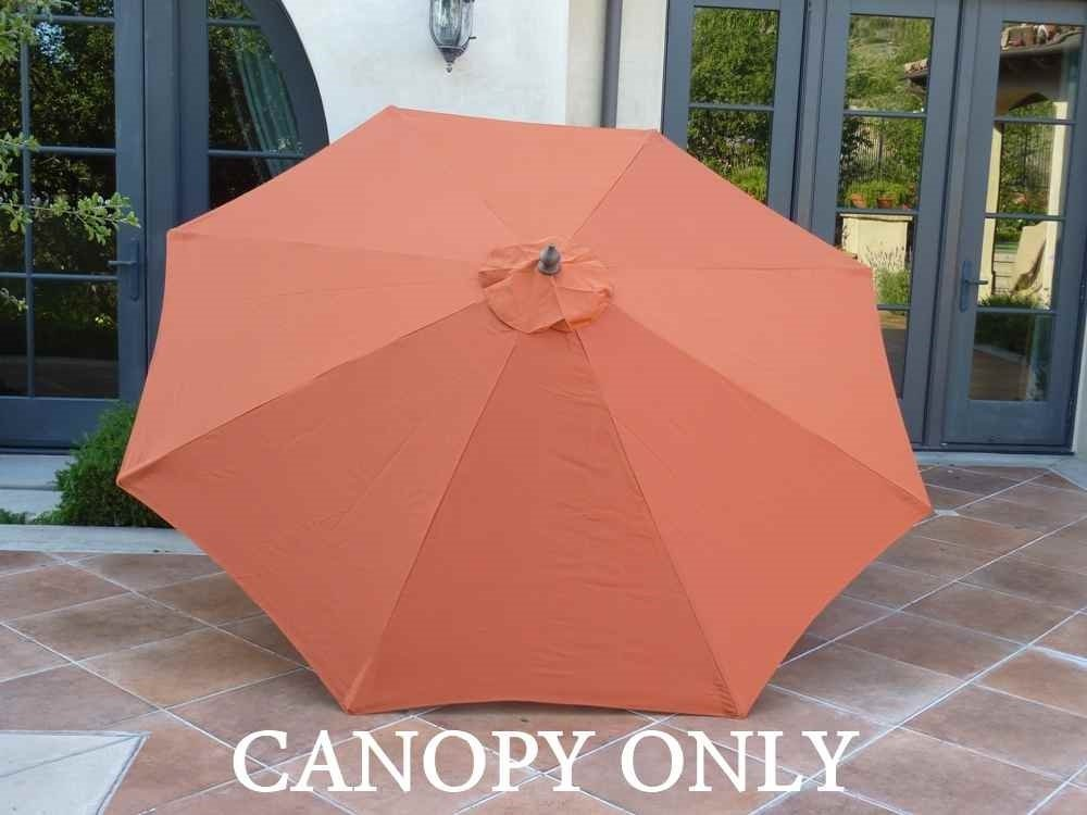 Formosa Covers 9ft Umbrella Replacement Canopy 8 Ribs in Terra (Canopy Only)  sc 1 st  Walmart.com & Formosa Covers 9ft Umbrella Replacement Canopy 8 Ribs in Terra ...