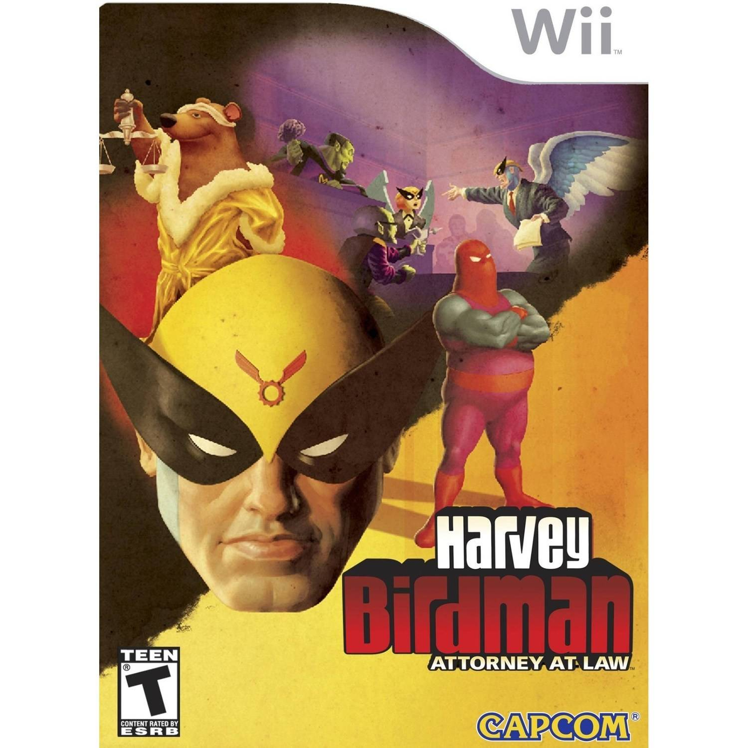 Harvey Birdman Attorney at Law - Pre-Owned (Wii)