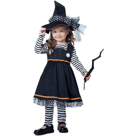Crafty Little Witch Kids Costume - Toddler Witch Costume