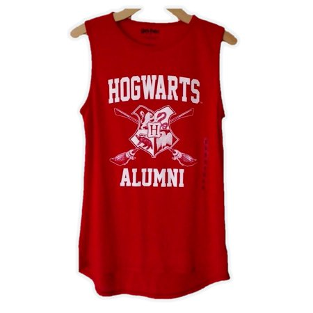 afbc8b6f Harry Potter Hogwarts Alumni Junior Muscle Tank Top T-Shirt Womens X-Large  ...