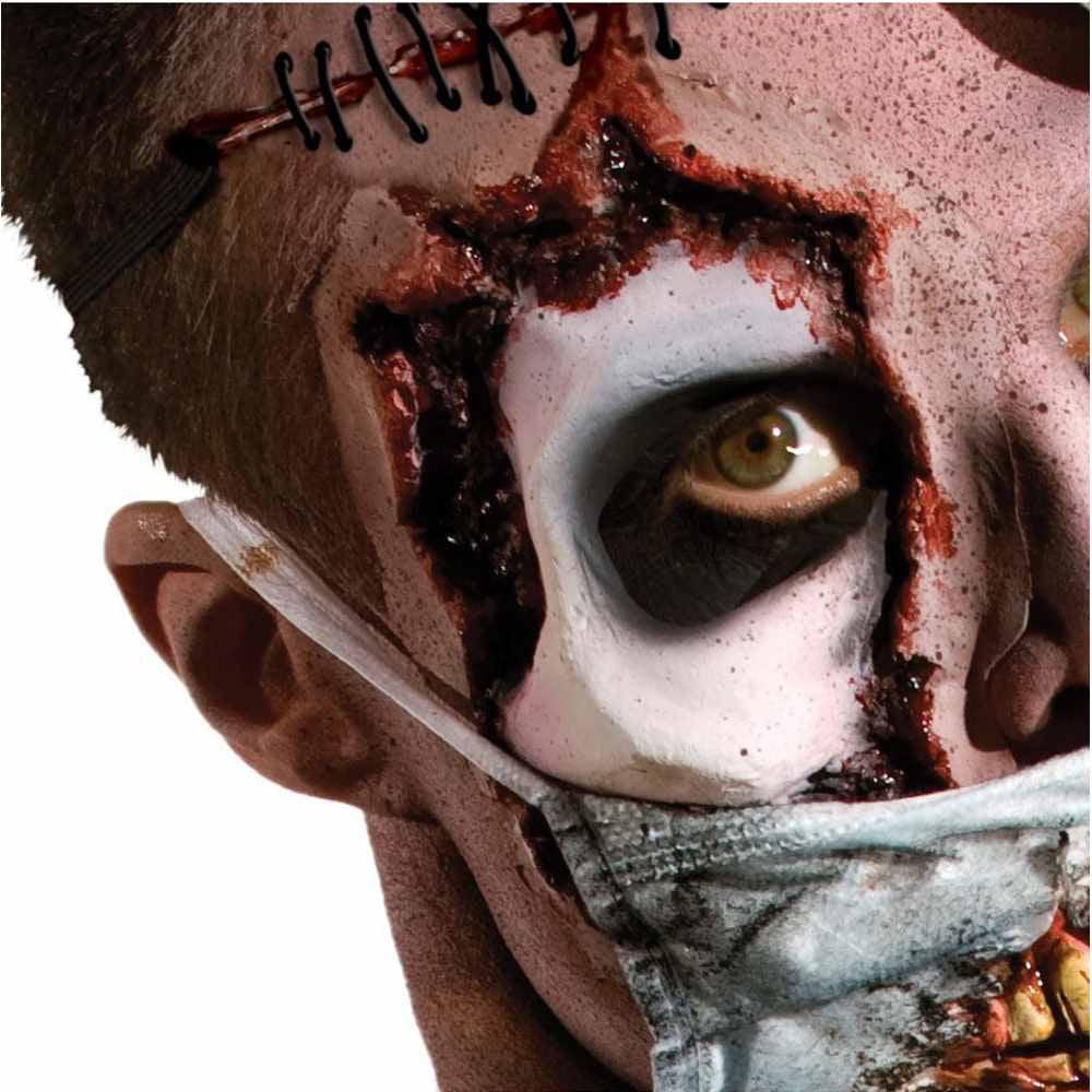 Zombie Latex Eye Appliance Costume Makeup One Size