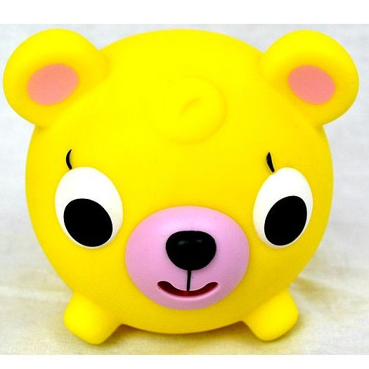 Yellow Bear Squeeze Fidget Toy