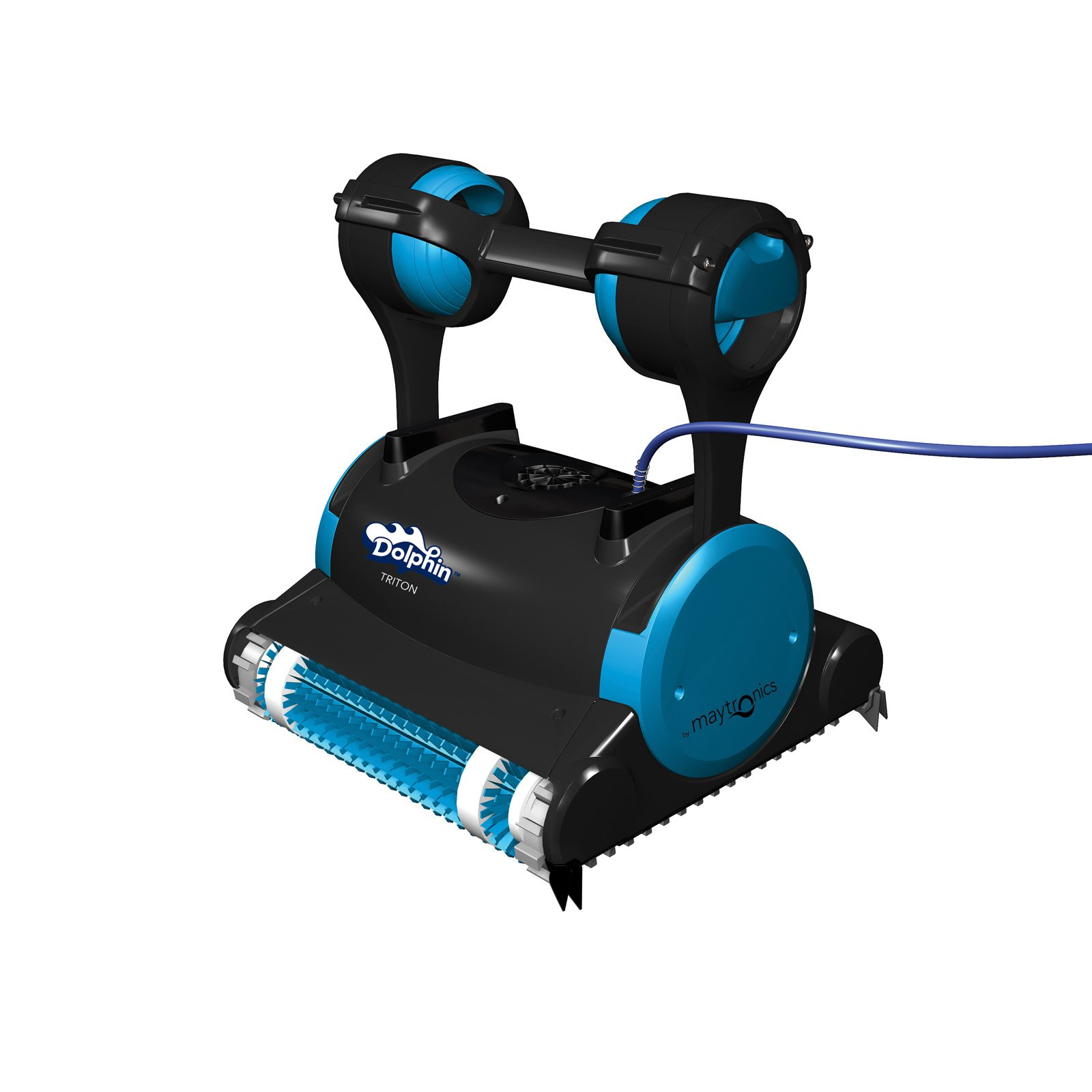 Dolphin Triton Robotic Pool Cleaner with Caddy and Swivel Cable