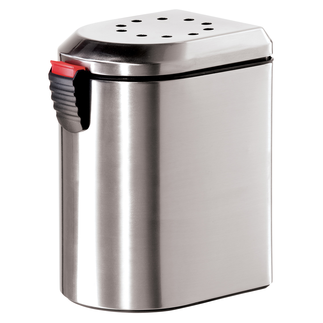 "Oggi Corporation 7289.0 10"" Stainless Steel Deluxe Countertop Compost Pail by OGGI CORPORATION"