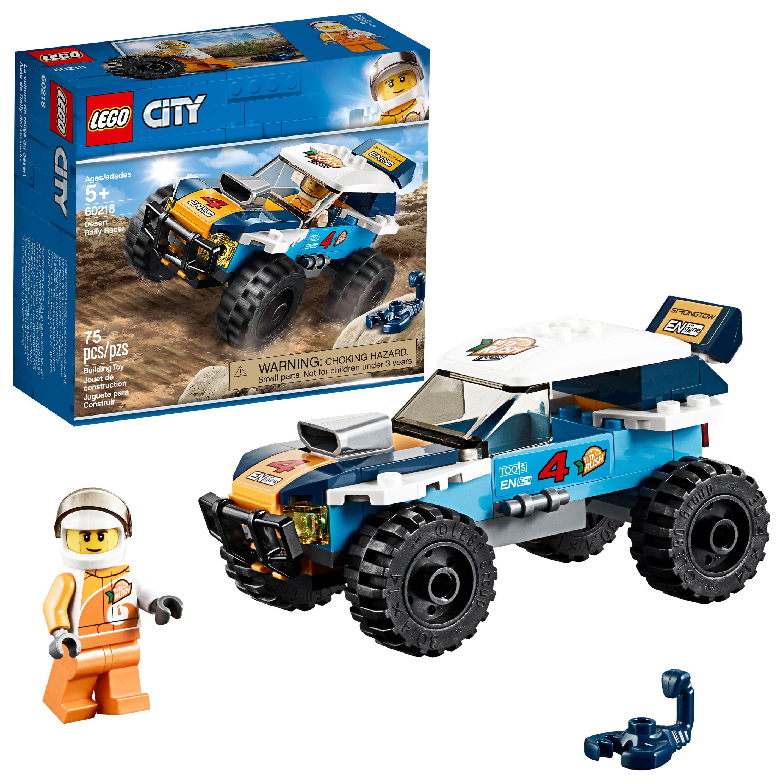 LEGO City Great Vehicles Desert Rally Racer 60218 Racing Car Building Set
