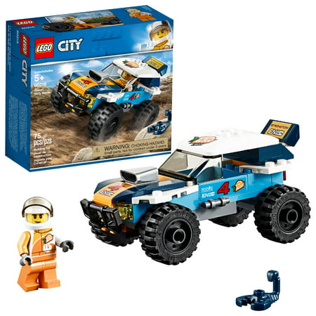 LEGO City Great Vehicles Desert Rally Racer 60218 Racing Car Building Set