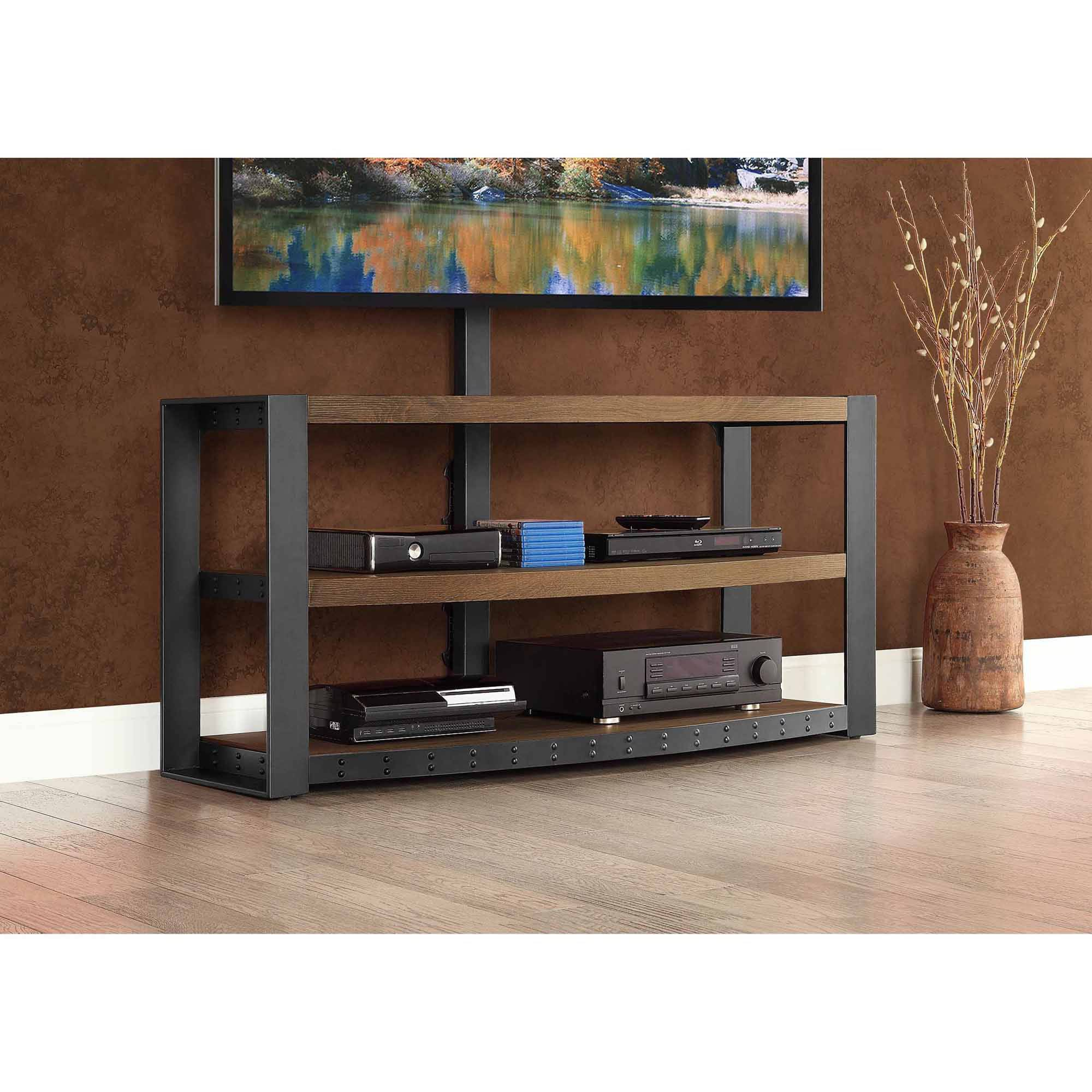Santa Fe 3 In 1 For Stand Tv Brown Tvs Up To 65 108 Top Reviews