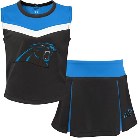 hot sales ac535 33f33 Girls Carolina Panthers Cheerleader Outfit, Panthers Cheer ...