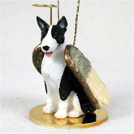 Bull Terrier, Brindle Tiny Ones Dog Angels (2 in), Each figurine is carefully hand painted for that extra bit of realism. By Conversation Concepts Ship from US