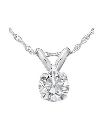 white carat handmade pendant certified diamond solitaire gold necklace