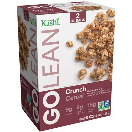 Kashi Go Lean Crunch Protein and High Fiber Cereal 51 Ounce Value Box ...