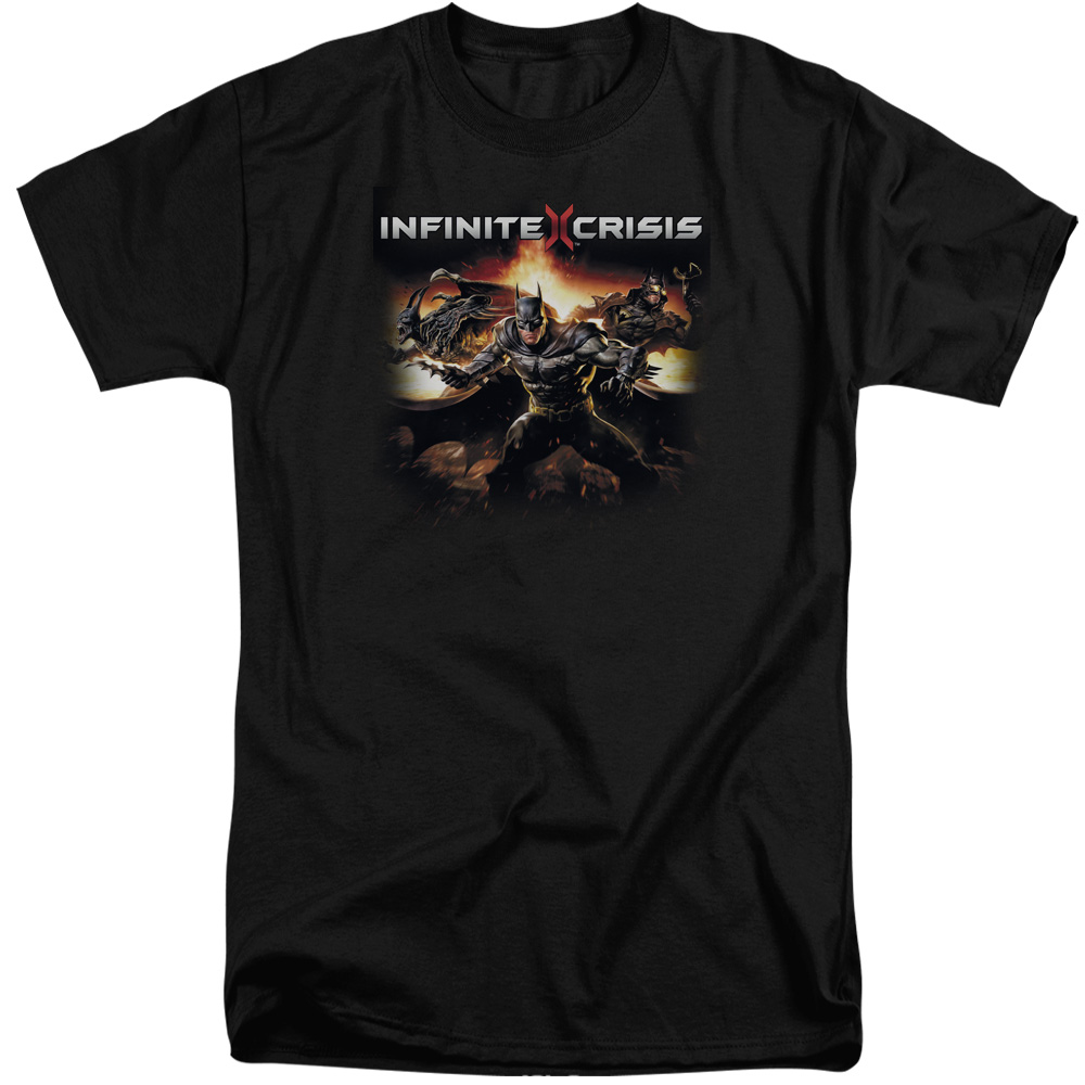Infinite Crisis Batmen Mens Big and Tall Shirt