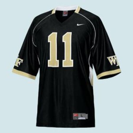 buy popular e2296 2da01 Wake Forest Demon Deacons Replica Nike Fb Jersey