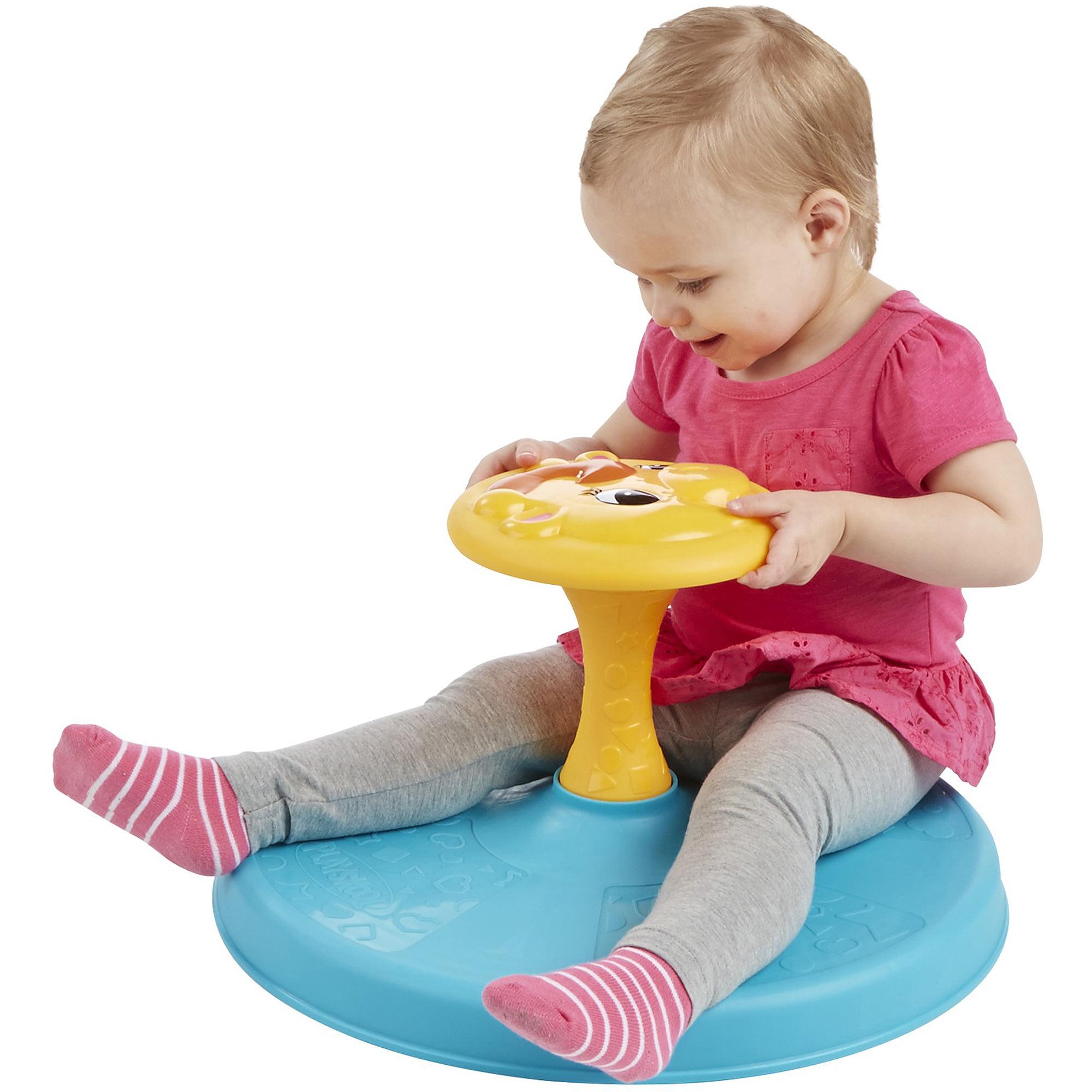 Playskool Giraffalaff Sit n Spin Toy Walmart