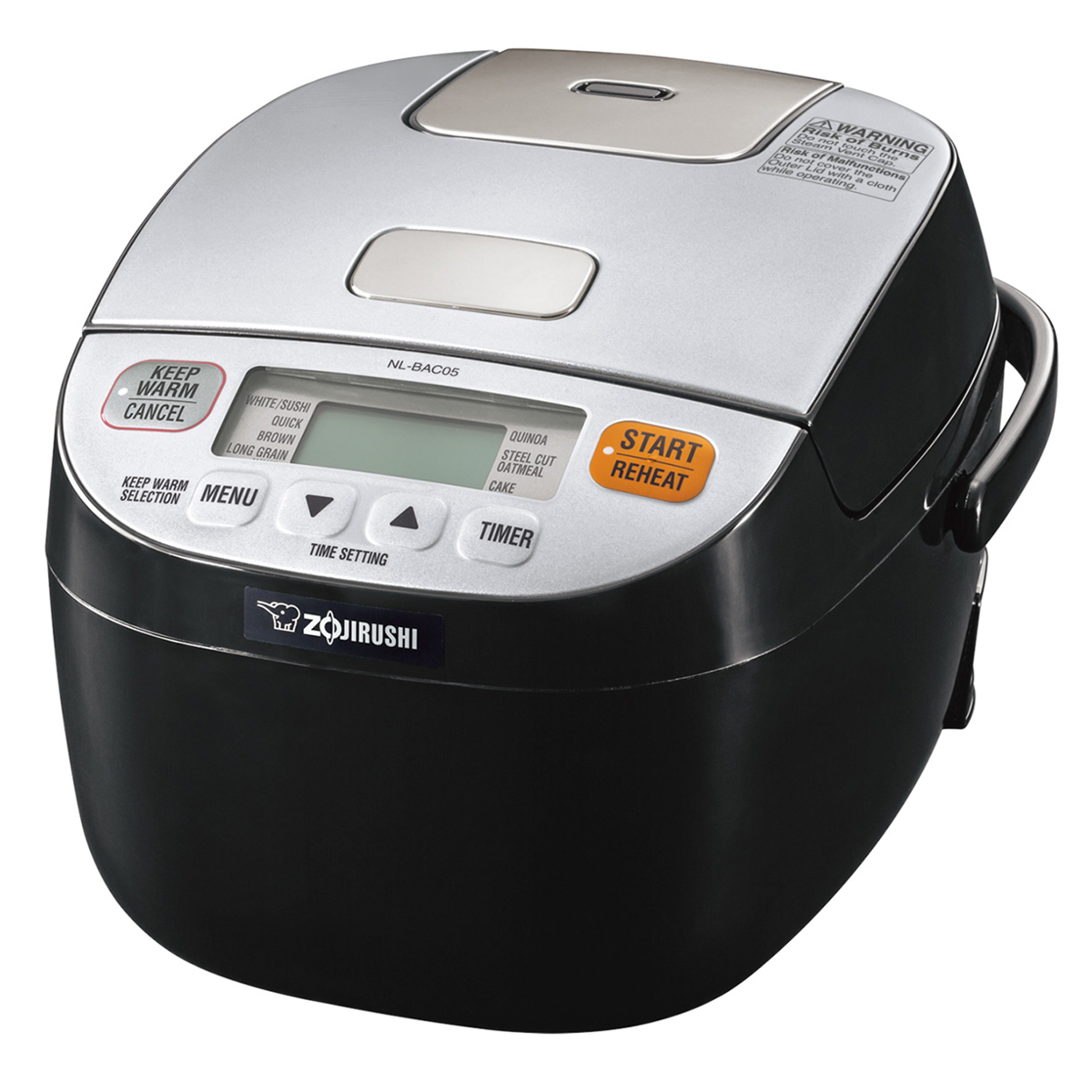 Zojirushi Micom Rice Cooker and Warmer (Micom Rice Cookers Plus), Black (Metal)