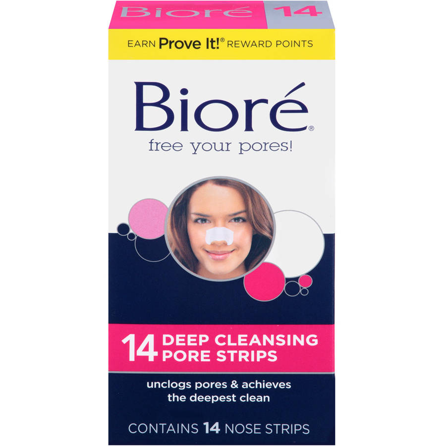 Biore Pore Strips Deep Cleansing 14 Ct