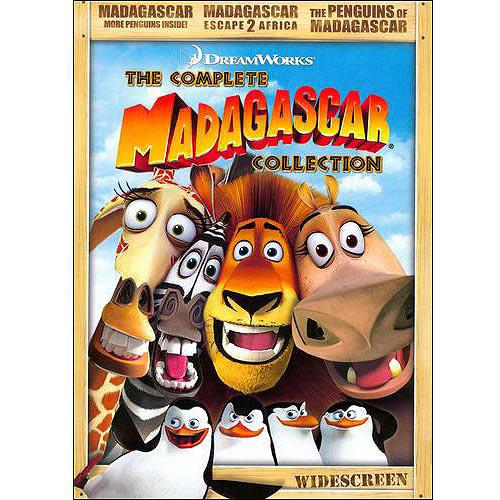 Madagascar The Complete Collection: Madagascar: More Penguins 2009 / Madagascar: Escape 2 Africa / Nickelodeon's Penguins Of Madagascar (Widescreen)