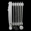 Comfort Zone CZ7007J 1,200-Watt Electric Oil-Filled Radiant Portable Heater