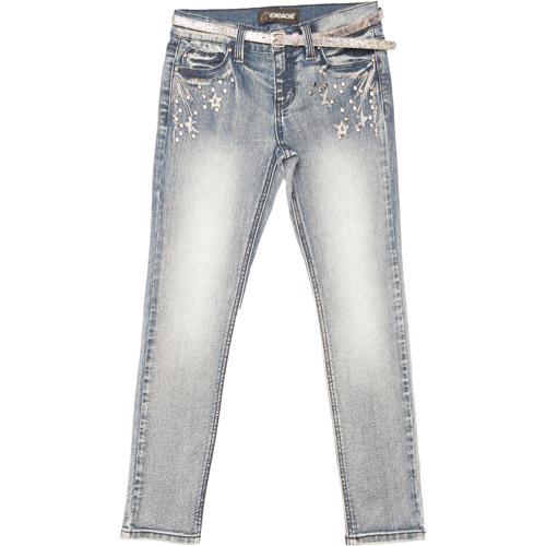 Jordache Girls' Rocker Super Skinny Denim Jeans